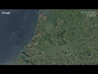 Google Timelapse - Netherlands