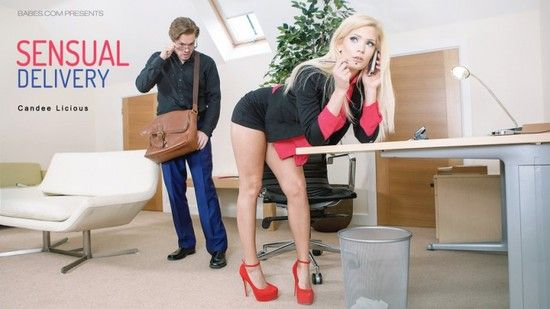 OfficeObsession – Candee Licious – Sensual Delivery