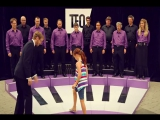 Живое пианино - Человеческий хор.