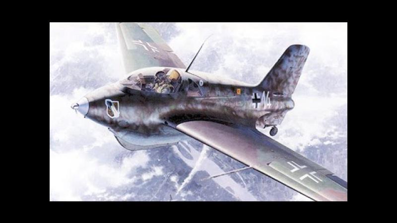 Ракетный истребитель - перехватчик Ме-163 Самолеты Германии, 1941-1945 История авиации, 2-й фильм