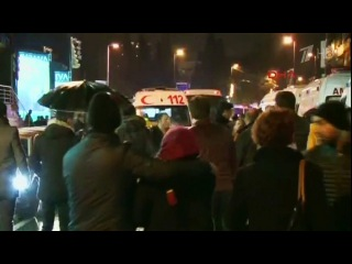 Вновогоднюю ночь втеракте вСтамбуле погибли 39 человек,почти половина изкоторых иностранцы
