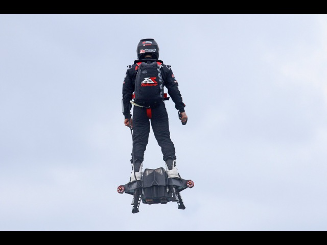 Flyboard® Air Farthest flight by hoverboard