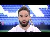 Carvajal, Jesé, Lucas Vázquez, Nacho, Casilla y Yáñez en el estreno de Realmadrid TV