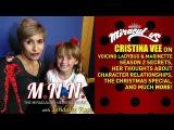 Lindalee &amp Cristina Vee talk Miraculous Ladybug - Spoilers (MNN) Ep.3