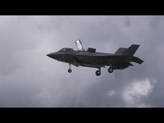 Power, Control and Poise: the F-35 Fighter Has It All at Farnborough 2016 — AINtv Express