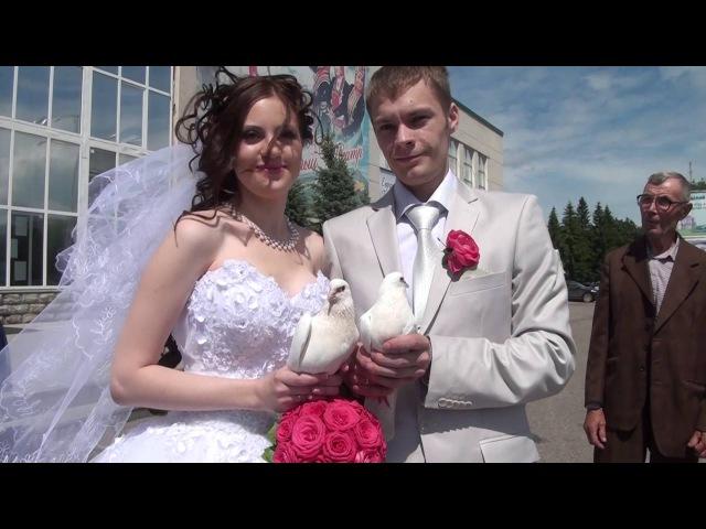 клип нарезка свадьба Коли и Кристины
