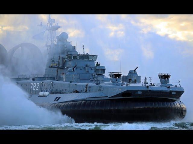 Самый могучий в Мире - десантный корабль МВФ России / Русское оружие для НАТО /