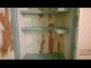 шкаф из гипсокартона с полками Монтаж и белый вариант