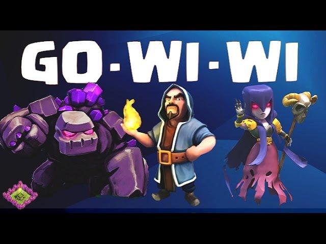Тактика GOWIWI - голем, колдун, ведьма - обучение