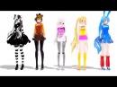 Танец фнаф аниме под музыку Bar Bar Bar