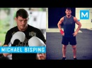 Michael Bisping Conditioning Training Pad Work | Muscle Madness michael bisping conditioning training pad work | muscle madn