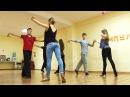 Урок движения. Парный танец Хастл . Игорь Мухин и Виктория Томилова