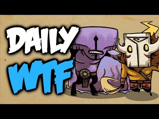 Dota 2 Daily WTF - Epic Duel