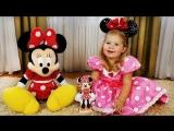 ✿ Минни Маус на Пикнике Minnie Mouse Mickey Toys Minnie's Bow Toons Клуб Микки Маусa Принцессы Минни