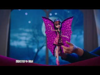 Monster High® Ghoul-to-bat Transformation Draculaura® Doll _ Monster High