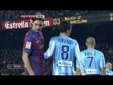 ЧИ 2009-10 | 24 тур | Барселона - Малага 2-1 | 2 тайм