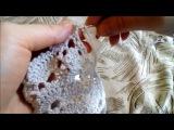 Вшиваем молнию в вязаное изделие крючком