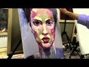 Нарисовать портрет маслом, Сахаров, уроки живописи в Москве