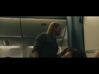 Fans on a plane