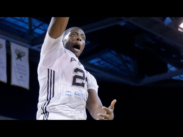Spurs Draft Pick Cady Lalanne Season Highlights w Austin Spurs