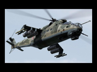 Video Shows Russian Mi-24 Hind Attack Helicopters In Intense Action .