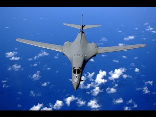 B-1 Lancer For supersonic jet-powered heavy strategic bomber United States Air Force (USAF)