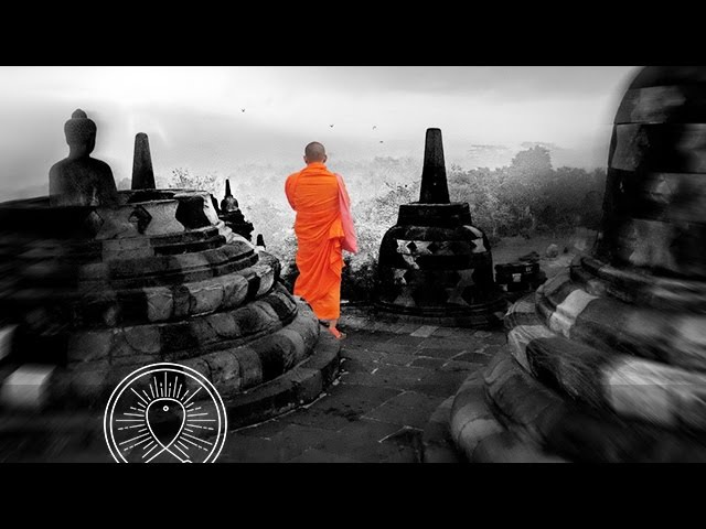 Buddhist Meditation Music for Positive Energy Buddhist Thai Monks Chanting Healing Mantra