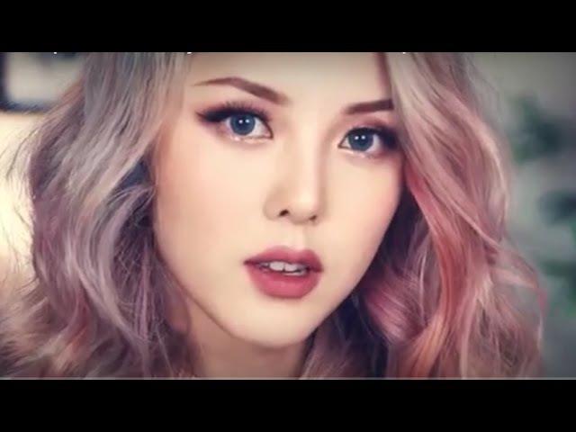 Как делают макияж корейские девушки! Korean Makeup Vs. American Makeup Style от Pony 2016