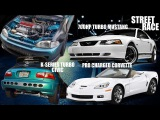 K-SERIES TURBO EG VS 700HP MUSTANG & PRO CHARGED CORVETTE Z06