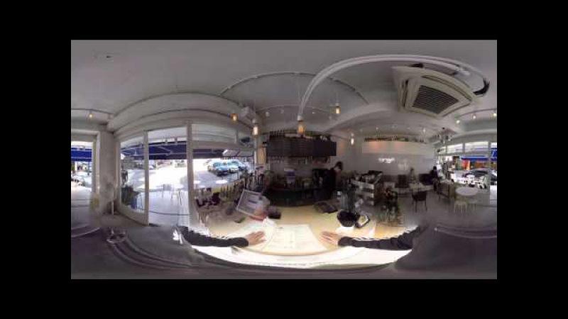 [360 VR] 압구정로데오 FIVE 커피숍(Coffeshop) 탐방