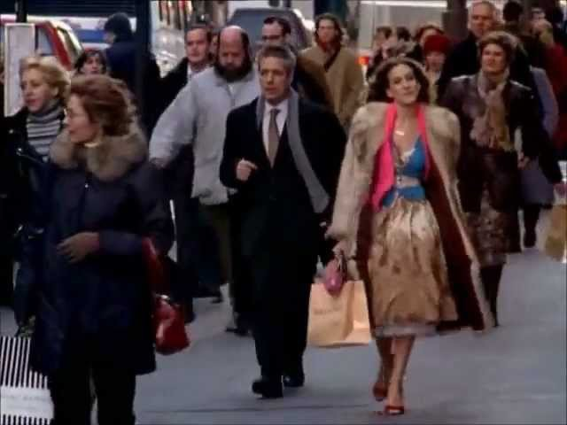 Sex and the City Carrie Returns to NYC Season 6 Clip