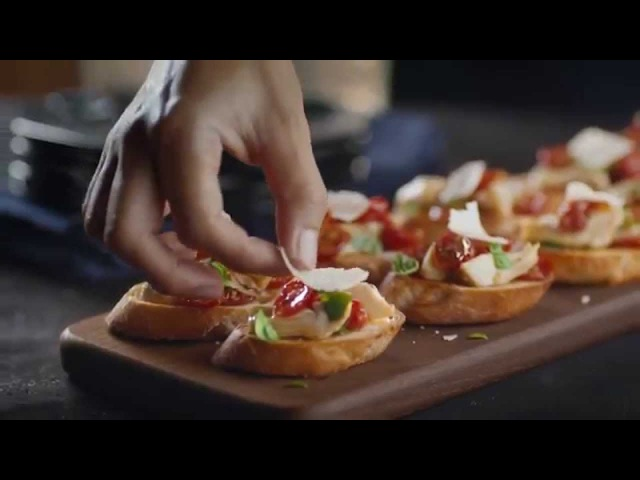 Artichoke and Roasted Tomato Crostini