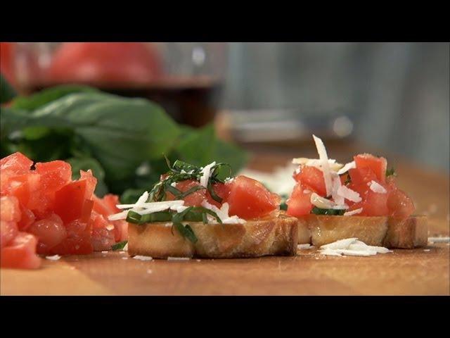 Tomato Basil Crostini HD