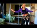 Копия видео Уроки танца живота Урок №1часть 2Пластика восточных танцев