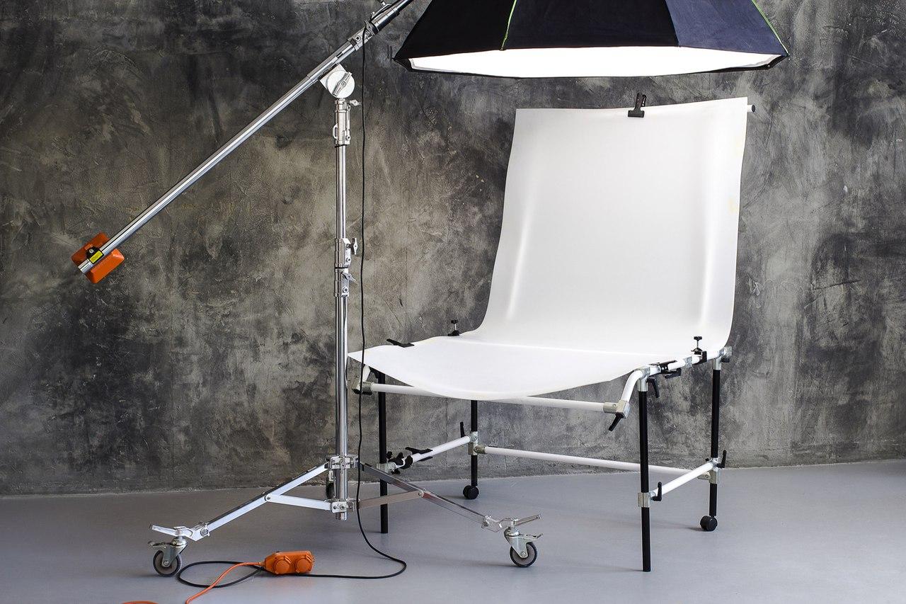 набережной был создание студии для предметной фотосъемки лопатках