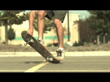Трюки на скейте. 1000 кадров в секунду