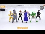 [BANGTAN BOMB] 방탄소년단 (BTS) '21세기 소녀 (21st Century Girl)' Dance Practice (Halloween ver.) (рус караоке от BSG)(rus karaoke from B