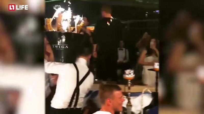 Кокорин и Мамаев в Монте-Карло в клубе Twiga пропили 250 тысяч евро