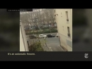 Terror Attack Kills 12 at Paris Newspaper Video showing the gunmen outside the office of Charlie Hebdo