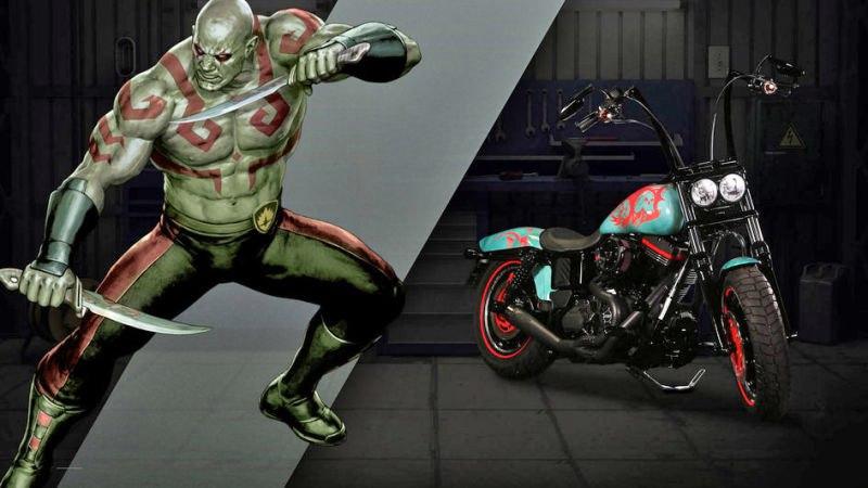 стражи галактики мотоцикл онлайн