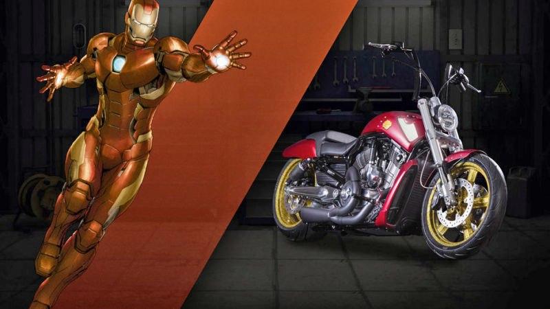 iron man moto