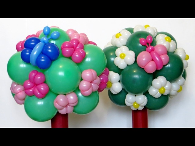 Топиарий из шаров Topiary of balloons (Subtitles)