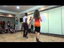 Rodolfo Montaño Castro Diana Spedicato - Workshop - Authentic Dominican Bachata Footwork