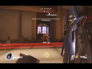 Играем в Overwatch 13 - Тренировка против ИИ: Роковая вдова