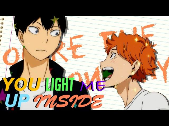 You light me up inside | kagehina