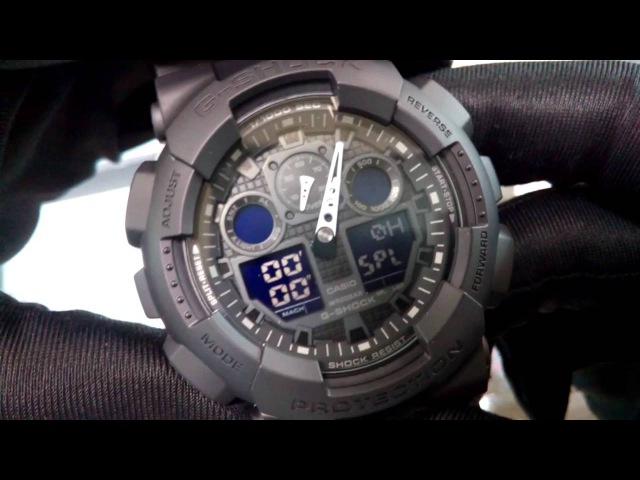 CASIO G-SHOCK GA-100-1A1. Cs-time.ru