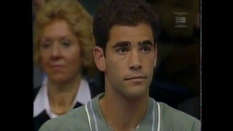 1996 ATP Tour World Championships Final Sampras vs Becker Part 1