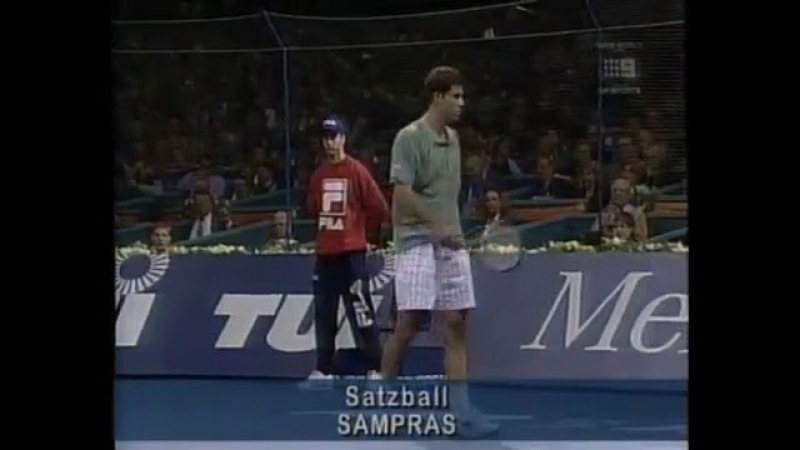 1996 ATP Tour World Championships Final Sampras vs Becker Part 2