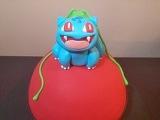 [vk.com/LakomkaVK] Pokemon Go! How To: Pokeball Surprise Inside Cake With Bulbasaur Topper!