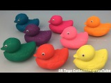 Play Doh Sparkle Ducks with Teletubbies Molds Fun for Kids